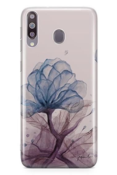 Lopard Samsung Galaxy M30 Kılıf Saf Aşk Kapak Renkli